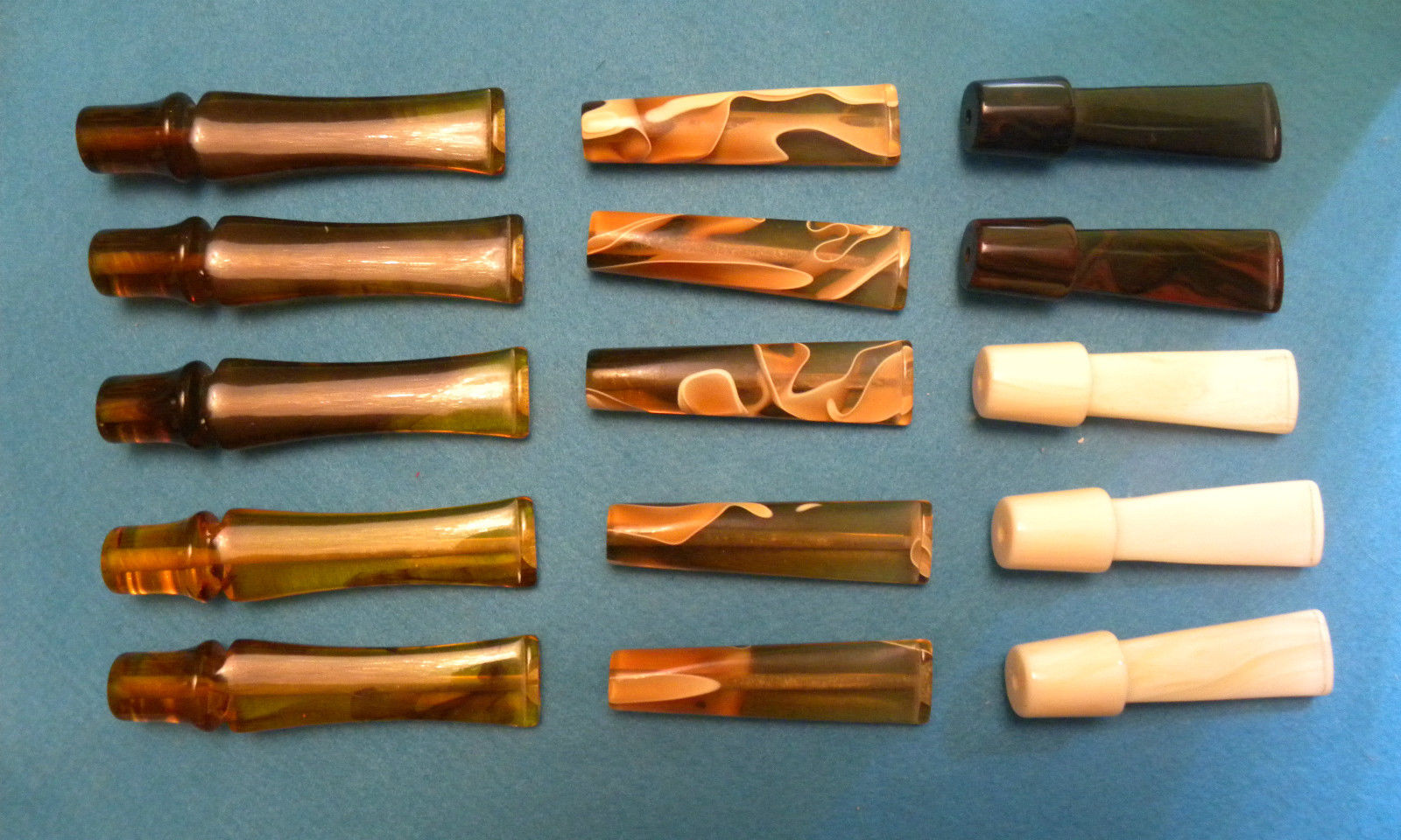 Acrylic mouthpieces